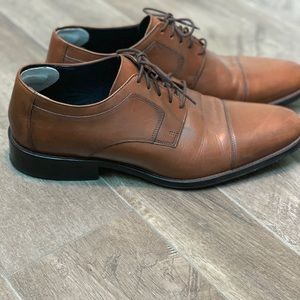 Johnston & Murphy Shoes - Brown Genuine Leather J. Murphy Shoes—like new!